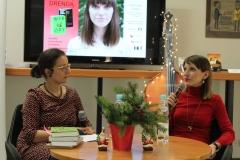 Spotkanie z Olgą Drendą, prowadzenie: Marta Tomczok